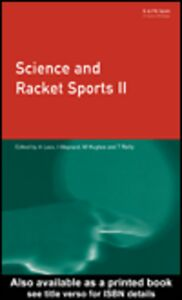 Ebook in inglese Science and Racket Sports 2