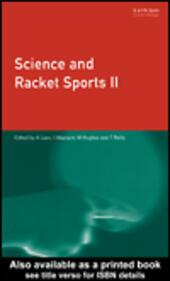 Science and Racket Sports 2
