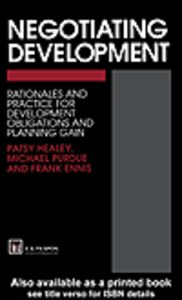 Ebook in inglese Negotiating Development Ennis, F. , Healey, P. , Purdue, M.