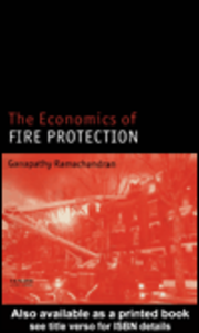 Ebook in inglese The Economics of Fire Protection Ramachandran, Ganapathy