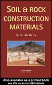 Ebook in inglese Soil and Rock Construction Materials McNally, Greg