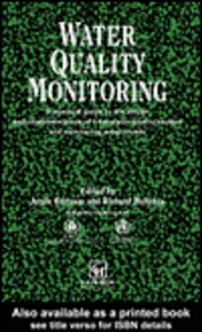 Ebook in inglese Water Quality Monitoring
