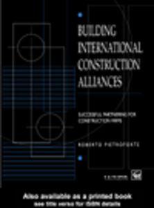 Foto Cover di Building International Construction Alliances, Ebook inglese di Roberto Pietroforte, edito da