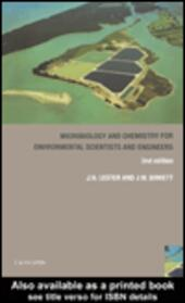 Microbiology and Chemistry for Environmental Scientists and Engineers