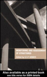 Foto Cover di Monitoring and Assessment of Structures, Ebook inglese di Graham Armer, edito da