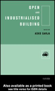 Ebook in inglese Open and Industrialised Building