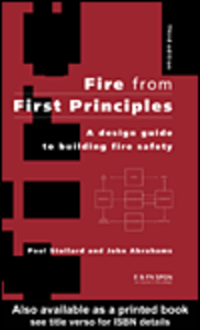 Ebook in inglese Fire from First Principles Abrahams, John , Stollard, Paul