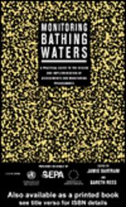Ebook in inglese Monitoring Bathing Waters