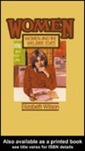 Foto Cover di Women and the Welfare State, Ebook inglese di Elizabeth Wilson, edito da