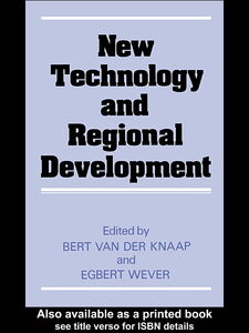 Ebook in inglese New Technology and Regional Development