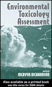 Foto Cover di Environmental Toxicology Assessment, Ebook inglese di Mervyn Richardson, edito da