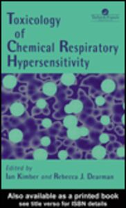 Ebook in inglese Toxicology of Chemical Respiratory Hypersensitivity