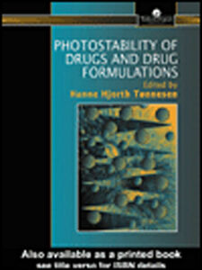 Ebook in inglese Photostability Of Drugs And Drug Formulations