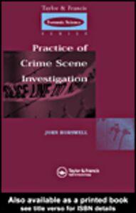 Ebook in inglese Practice Of Crime Scene Investigations