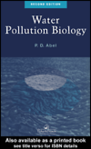 Ebook in inglese Water Pollution Biology Abel, P.D.