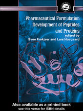 Pharmaceutical Formulation Development of Peptides and Proteins