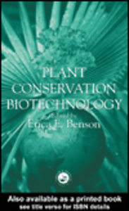 Ebook in inglese Plant Conservation Biotechnology
