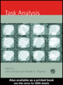 Ebook in inglese Task Analysis