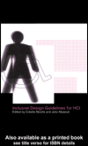 Ebook in inglese Inclusive Design Guidelines for Human-Computer Interaction