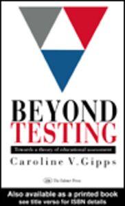 Ebook in inglese Beyond Testing Gipps, Caroline