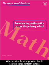 Coordinating Mathematics Across the Primary School