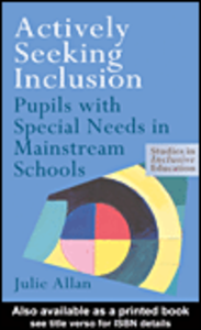 Ebook in inglese Actively Seeking Inclusion Allan, Julie