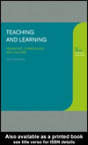Ebook in inglese Teaching and Learning Moore, Alex