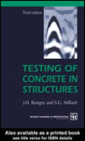 Testing of Concrete in Structures