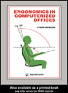 Ebook in inglese Ergonomics In Computerized Offices Grandjean, E.
