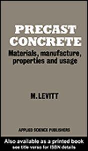 Ebook in inglese Precast Concrete Levitt, M.