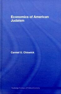 Foto Cover di Economics of American Judaism, Ebook inglese di Carmel Chiswick, edito da Taylor and Francis