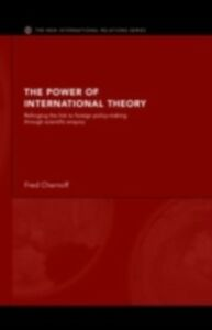 Foto Cover di Power of International Theory, Ebook inglese di Fred Chernoff, edito da Taylor and Francis