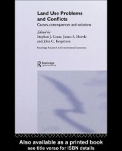 Ebook in inglese Land Use Problems and Conflicts Bergstrom, John C. , Goetz, Stephen J , Shortle, James S.