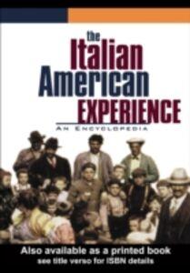 Foto Cover di Italian American Experience, Ebook inglese di  edito da Taylor and Francis