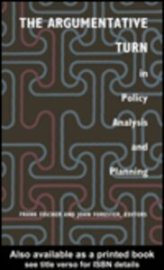 Foto Cover di The Argumentative Turn In Policy Analysis And Planning, Ebook inglese di  edito da