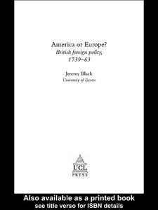 Foto Cover di America Or Europe?, Ebook inglese di Jeremy Black, edito da