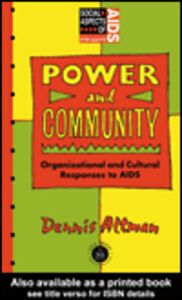 Ebook in inglese Power and Community Altman, Dennis