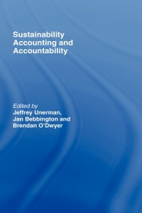 Ebook in inglese Sustainability Accounting and Accountability -, -