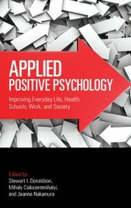 Foto Cover di Applied Positive Psychology, Ebook inglese di  edito da