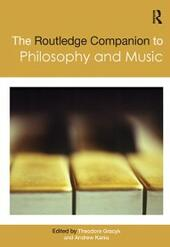 Routledge Companion to Philosophy and Music