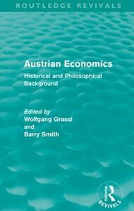 Foto Cover di Austrian Economics (Routledge Revivals), Ebook inglese di  edito da