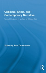 Ebook in inglese Criticism, Crisis, and Contemporary Narrative -, -