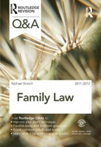 Ebook in inglese Q&A Family Law 2011-2012 Stretch, Rachael
