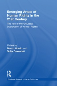 Ebook in inglese Emerging Areas of Human Rights in the 21st Century -, -