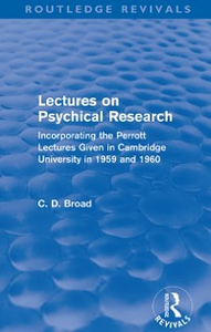 Ebook in inglese Lectures on Psychical Research (Routledge Revivals) Broad, C. D.