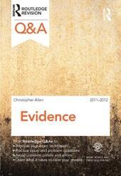 Q&A Evidence 2011-2012