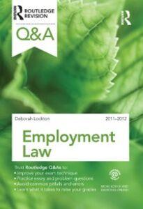 Ebook in inglese Q&A Employment Law 2011-2012 Lockton, Deborah