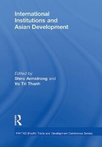 Ebook in inglese International Institutions and Economic Development in Asia
