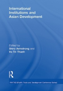 Ebook in inglese International Institutions and Economic Development in Asia -, -