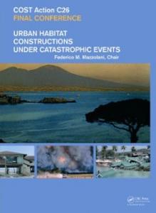 Ebook in inglese Urban Habitat Constructions Under Catastrophic Events -, -
